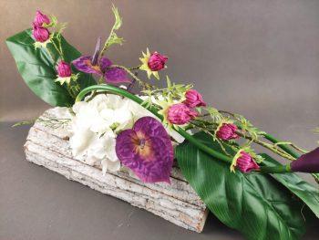 stroik na cmentarz - osłonka kora